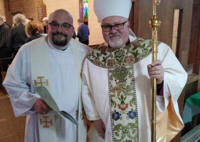 Saint Thomas of Canterbury Father Scott Leannah Installation Mass